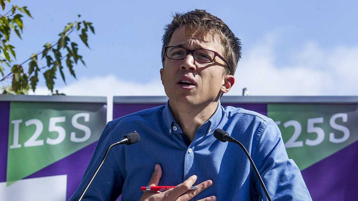 Informativos fin de semana - 14 horas - Íñigo Errejón afirma que solo un gobierno PSOE-Podemos evitará las terceras elecciones - Escuchar ahora