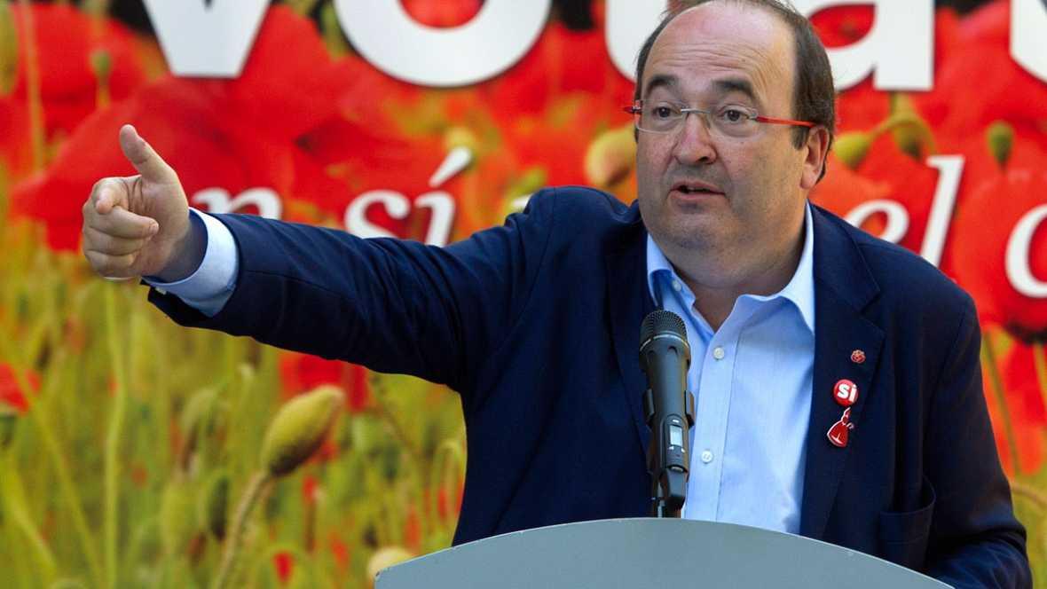 """Iceta a Sánchez: """"¡Pedro, matente firme, libranos de Rajoy del PP, por Dios, aguanta!"""""""