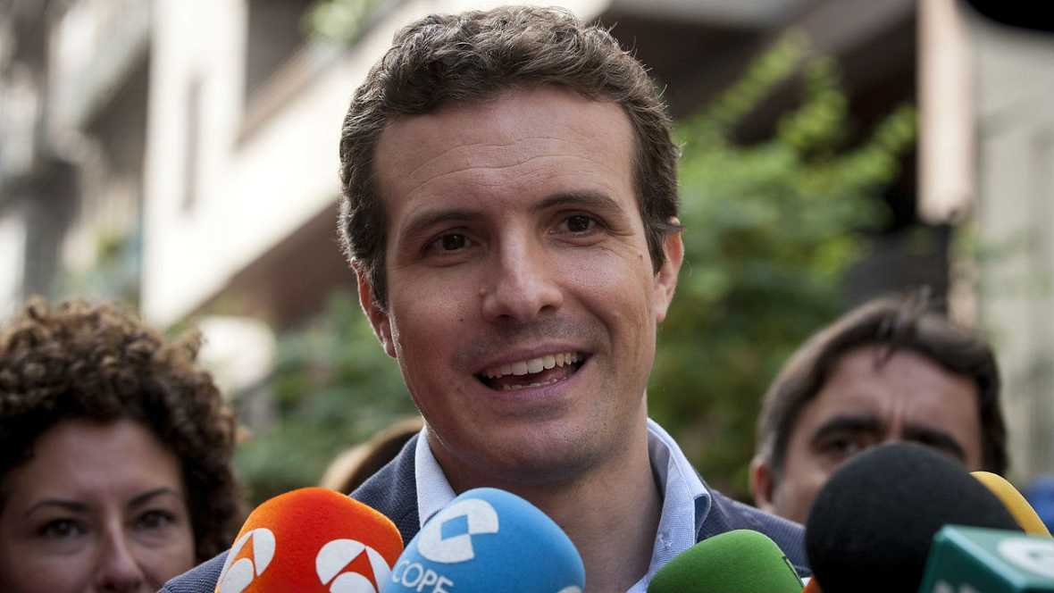 Informativos fin de semana - 20 horas - Pablo Casado afirma que Sánchez va directo al precipicio - Escuchar ahora