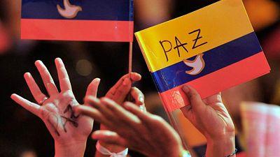 No es un d�a cualquiera - La paz en Colombia - Escuchar ahora