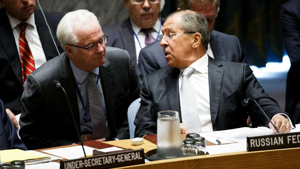 Boletines RNE - Rusia dice que llevar la paz a Siria es una tarea casi imposible - Escuchar ahora