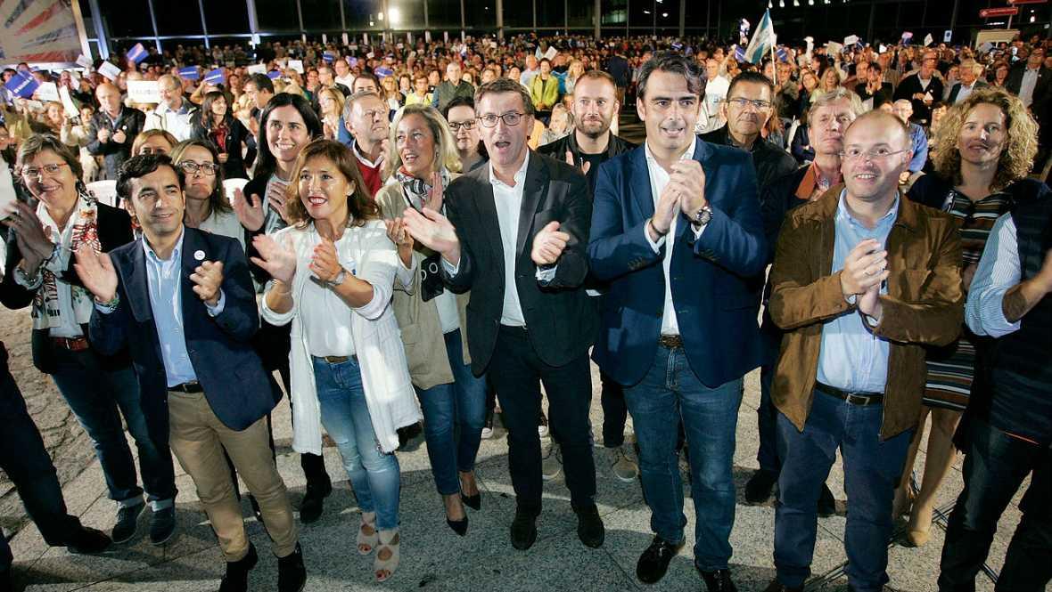 25 S - Especial elecciones Galicia y P. Vasco - El PP gallego agradece la participación y a quienes le dan la confianza - Escuchar ahora