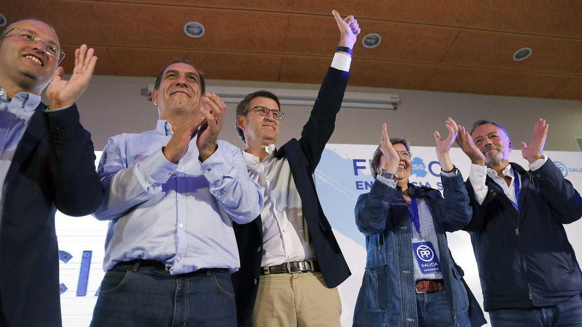 Especial elecciones Galicia y P. Vasco - Feijóo el único presidente autonómico con mayoría absoluta - Escuchar ahora
