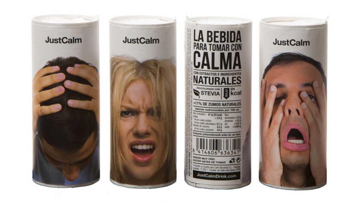 Marca España - Just Calm, la bebida energética que ayuda a concentrarse y sustituye al café - escuchar ahora