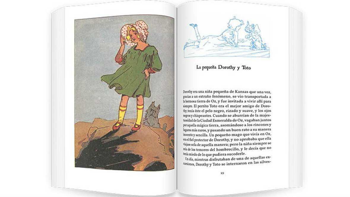 Biblioteca básica - 'Historias mágicas de Oz'- 02/10/16 - Escuchar ahora