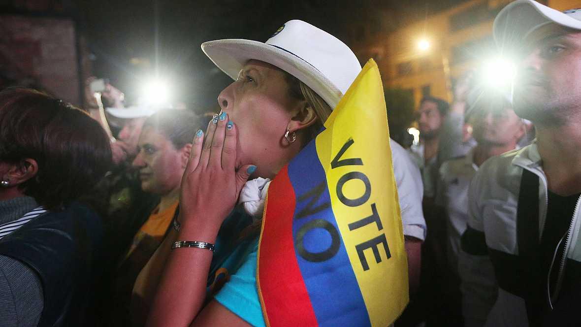 Las mañanas de RNE - Colombia rechaza el acuerdo de paz firmado entre el Gobierno y las FARC - Escuchar ahora