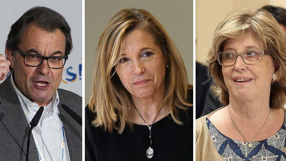 Diario de las 2 - La Fiscalía pide 10 años de inhabilitación para Mas y nueve para Rigau y Ortega - Escuchar ahora