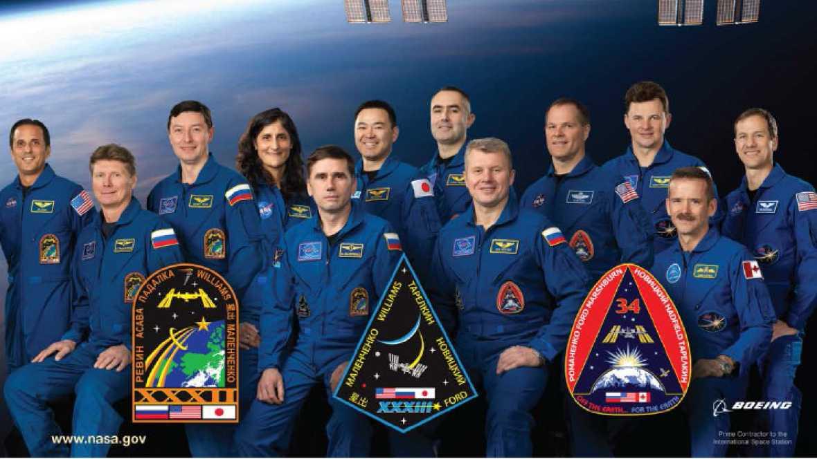 Marca España - Un español diseña emblemas para las misiones espaciales internacionales - escuchar ahora