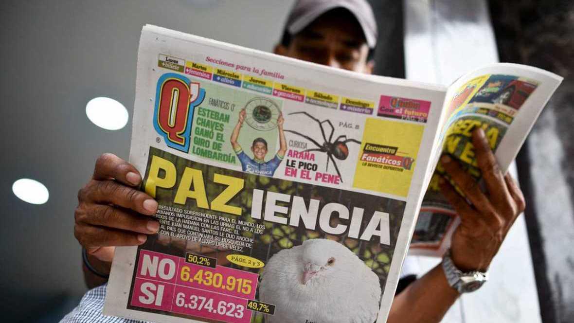 Coordenadas - Colombia sin plan B - 03/10/16 - escuchar ahora