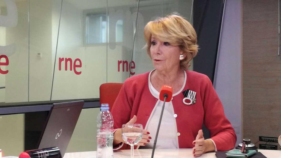 """Las mañanas de RNE - Esperanza Aguirre: """"Rajoy va a ser presidente pero el PP debe regenerarse"""" - Escuchar ahora"""