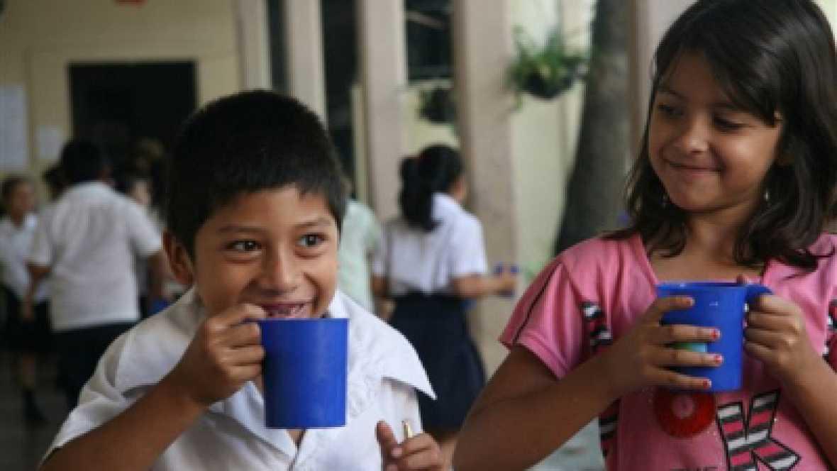 América hoy - Programa Mundial de Alimentos en El Salvador - 05/10/16 - escuchar ahora
