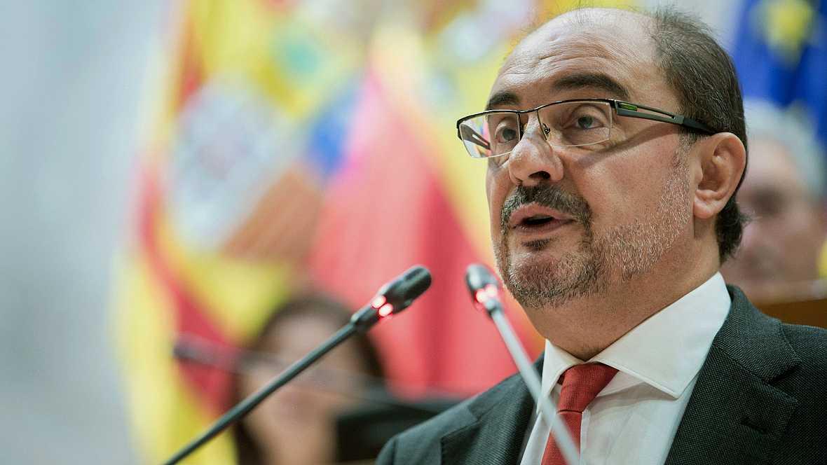 Diario de las 2 - Javier Lambán lanza un guiño a los partidos de izquierda - Escuchar ahora
