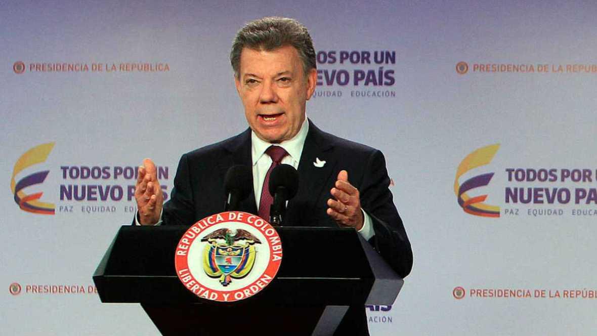 Boletines RNE - El presidente de Colombia obtiene el Premio Nobel de la Paz 2016 - 07/10/16 - Escuchar ahora