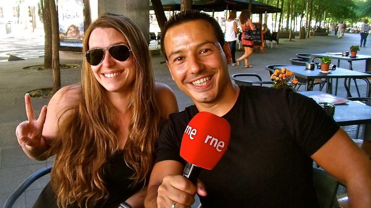 La sala - Jorge Gª Palomo y Raquel Sastre, cómica en La sala - 07/10/16 - Escuchar ahora