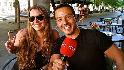 La sala - Jorge G� Palomo y Raquel Sastre, c�mica en La sala - 07/10/16 - Escuchar ahora