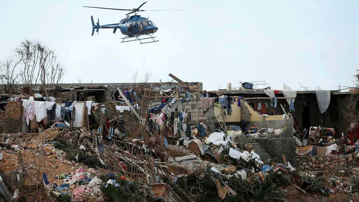 Boletines RNE - Matthew siembra desolación en el país más pobre de América - Escuchar ahora