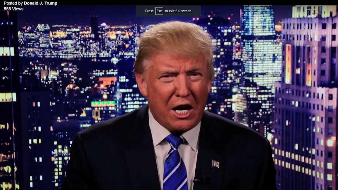 El machismo de Trump le complica la campaña - Escuchar ahora