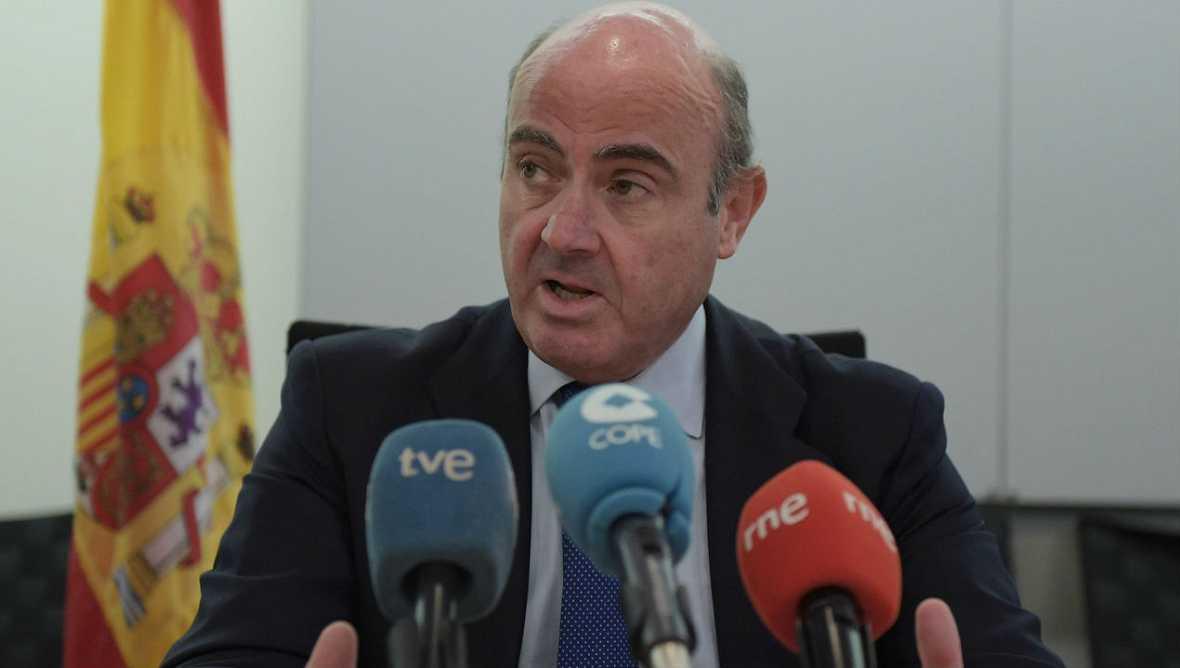 Informativos fin de semana - 20 horas - De Guindos: Los mercados perciben que habrá pronto un Gobierno en España - Escuchar ahora