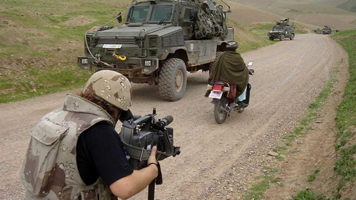 Las mañanas de RNE - Conocemos de cerca el trabajo de los corresponsales de guerra - Escuchar ahora