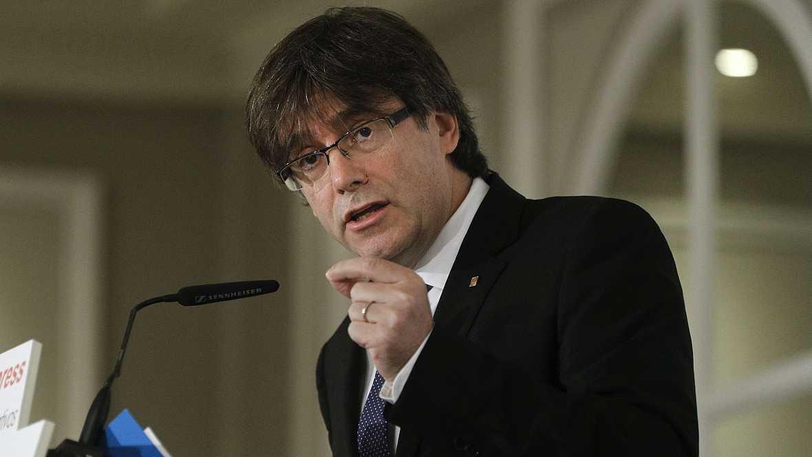 Diario de las 2 - Puigdemont, dispuesto a negociar la fecha y plazos del referéndum - Escuchar ahora