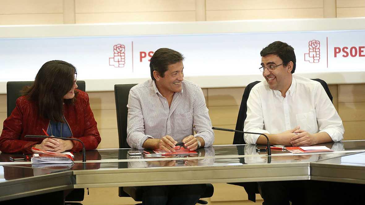 Diario de las 2 - La gestora del PSOE mantendrá encuentros bilaterales con los barones del partido - Escuchar ahora