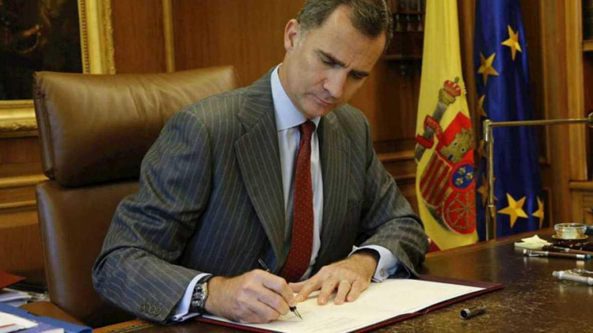 Boletines RNE - Nueva ronda de contactos del rey con los partidos políticos - 11/10/16 - Escuchar ahora