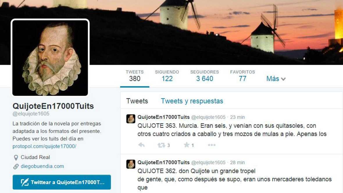 Punto de enlace - La literatura de los clásicos españoles en 'tuits' - 12/10/16 - escuchar ahora