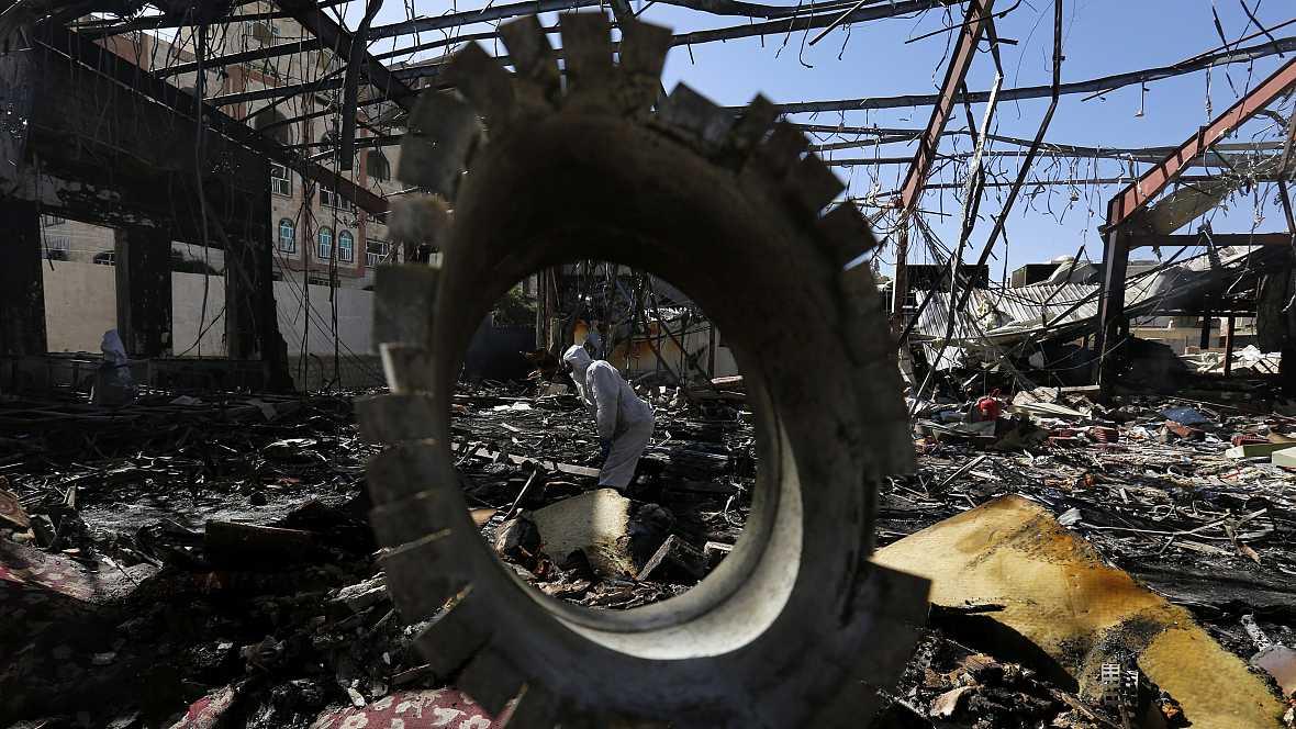 Europa abierta - Armas europeas utilizadas contra la población civil en Yemen - escuchar ahora