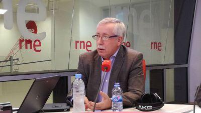 """Las mañanas de RNE - Ignacio Fernández Toxo (CC.OO): """"Ya no vale poner más parches a las pensiones"""" - Escuchar ahora"""