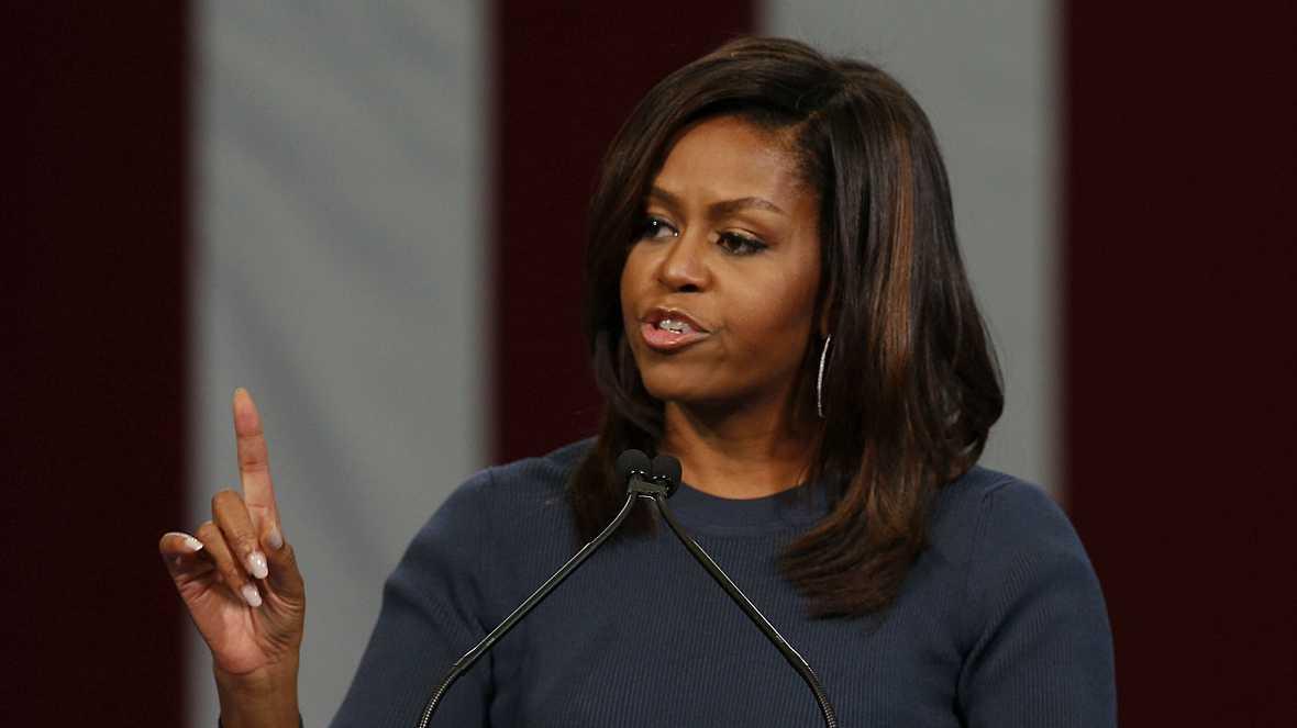 Radio 5 Actualidad - Michelle Obama, una de las principales bazas contra Trump - 14/10/16 - Escuchar ahora