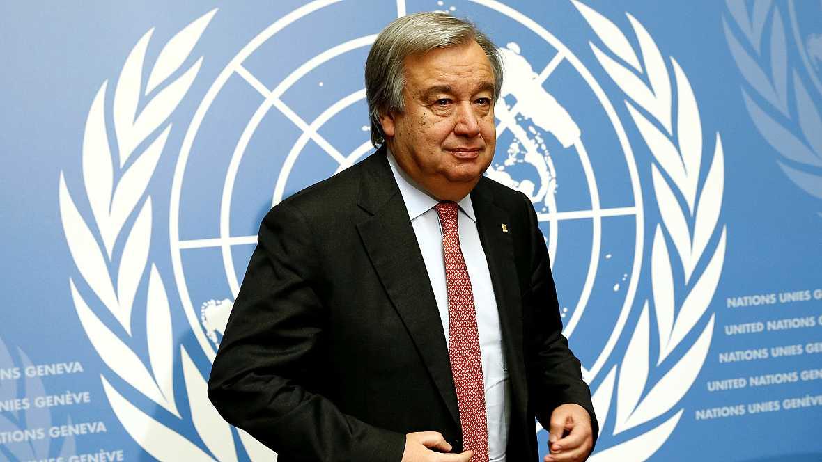 Las mañanas de RNE - Las prioridades de Antonio Guterres al frente de la ONU - Escuchar ahora