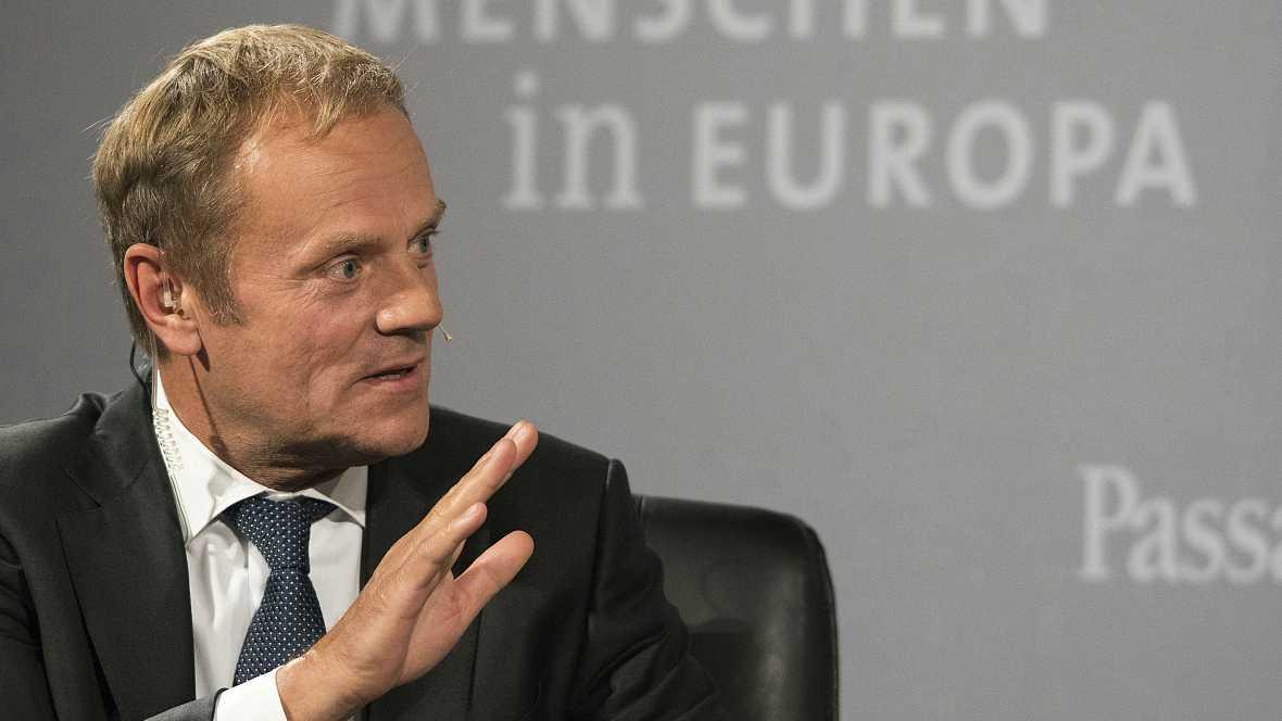 Las mañanas de RNE - Duras palabras del presidente del Consejo Europeo contra el brexit - Escuchar ahora