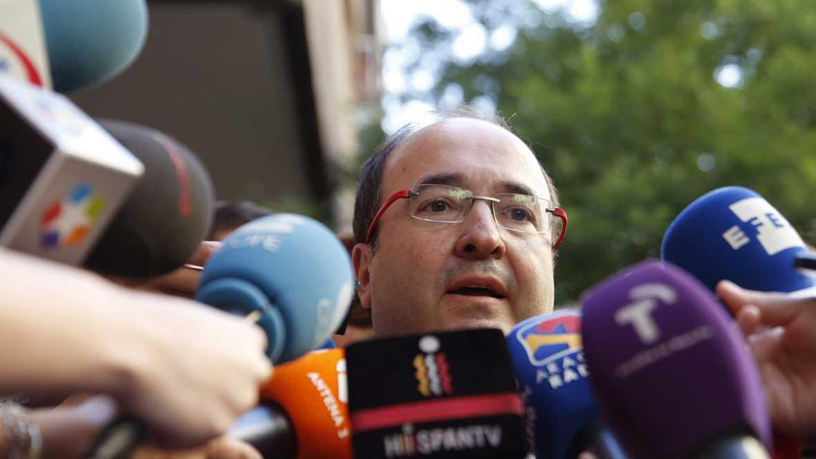 """Las mañanas de RNE - Miquel Iceta (PSC): """"No creo que el PSOE vaya a cambiar de posición"""" - Escuchar ahora"""