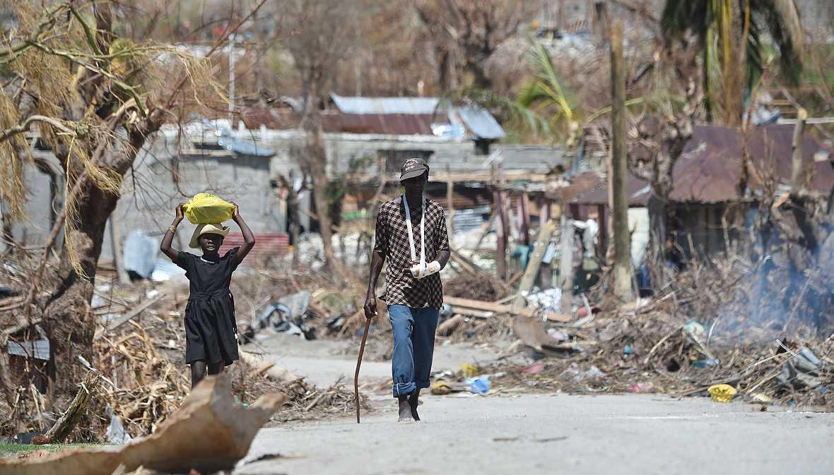 Mundo solidario - La ayuda de Acción contra el Hambre y Unicef en Haití - 16/10/16 - escuchar ahora