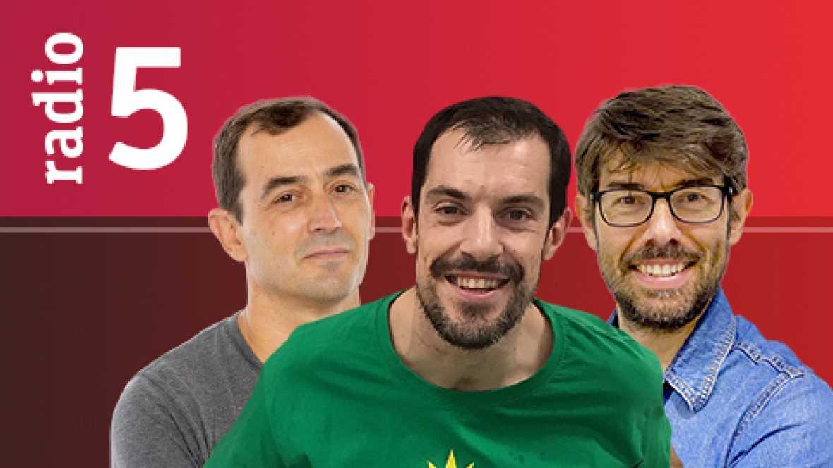 El vestuario en Radio 5 - Cultural Leonesa-Madrid, Hércules-Barça y Guijuelo-Atlético, duelos estrellas de Copa - 14/10/16 - Escuchar ahora