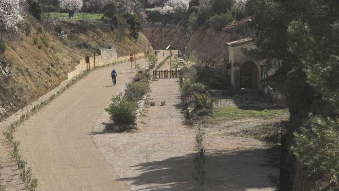 Caminantes - Vía Verde del Val de Zafán - Baix ebre - 15/10/16 - Escuchar ahora
