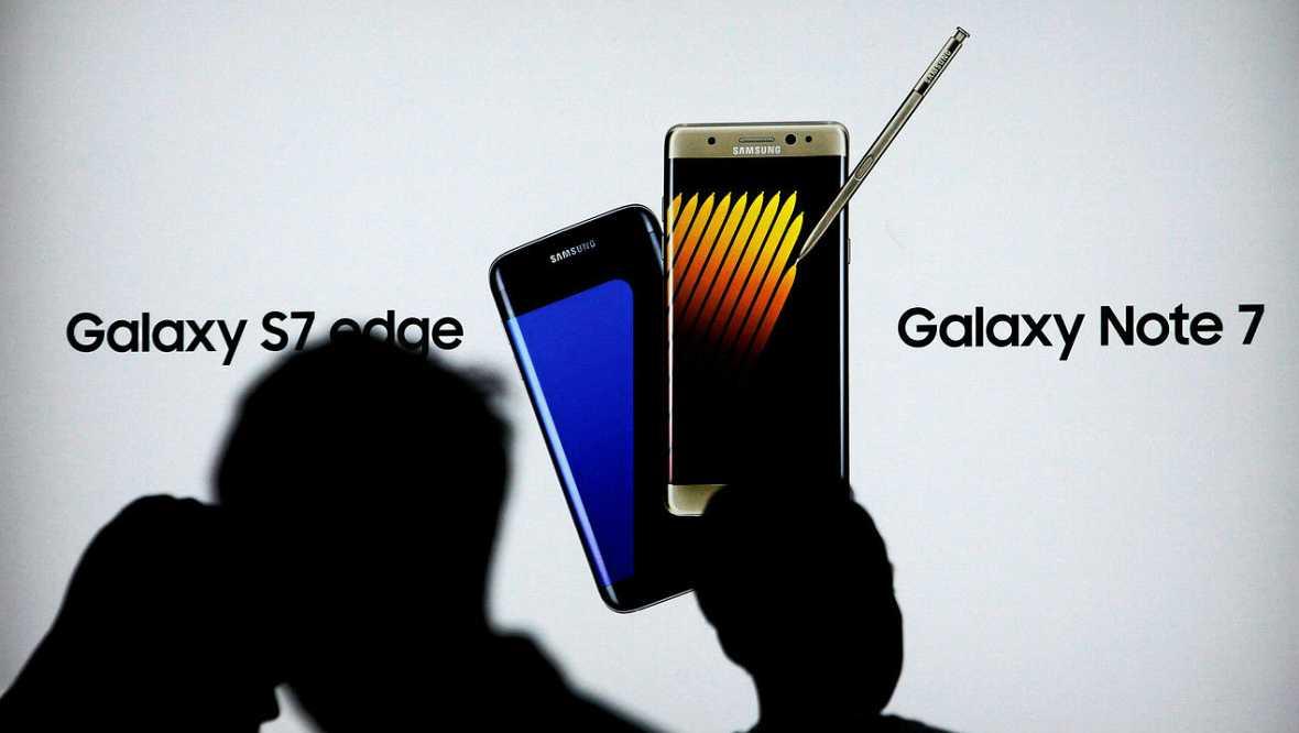 Ningún Galaxy Note 7 en vuelos comerciales - Escuchar ahora