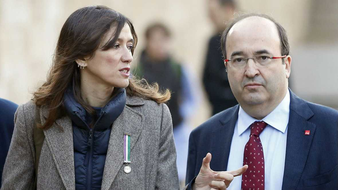 Boletines RNE - Primarias en el PSC: Parlon e Iceta defienden el NO a Rajoy - Escuchar ahora