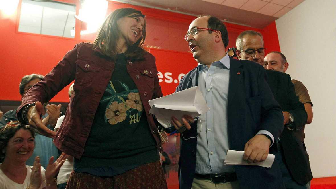Informativos fin de semana - Iceta reelegido secretario general del PSC y dispuesto a romper la displina de voto por el NO a Rajoy - Escuchar ahora
