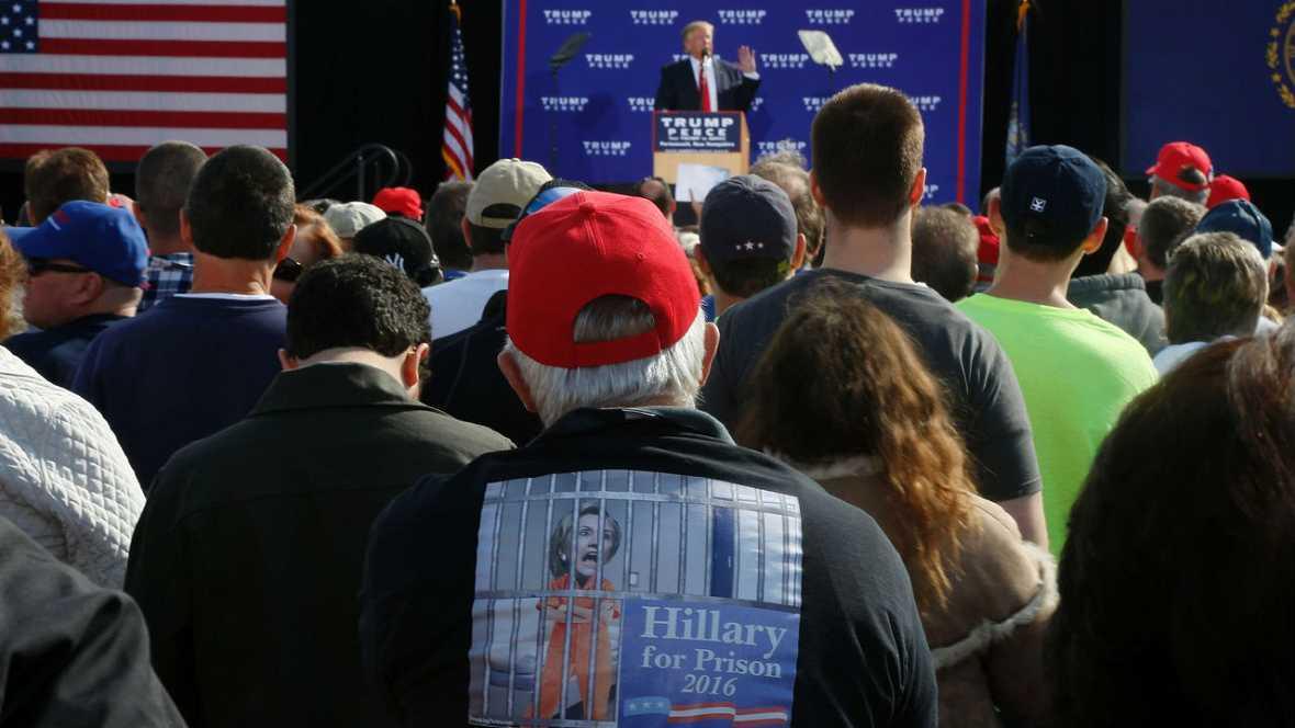 Trump invita a Hillary someterse a un test de drogas - Escuchar ahora