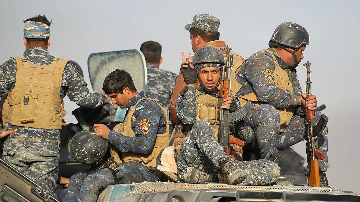 Boletines RNE - Ofensiva del ejército iraquí para recuperar Mosul en manos de los yihadistas - 17/10/16 - Escuchar ahora
