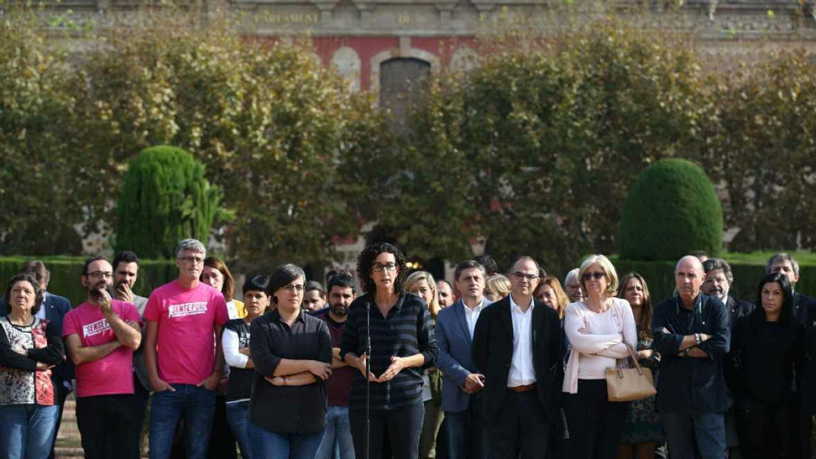 Diario de las 2 - La CUP y Junts Pel Sí insisten en el desafío independentista - Escuchar ahora