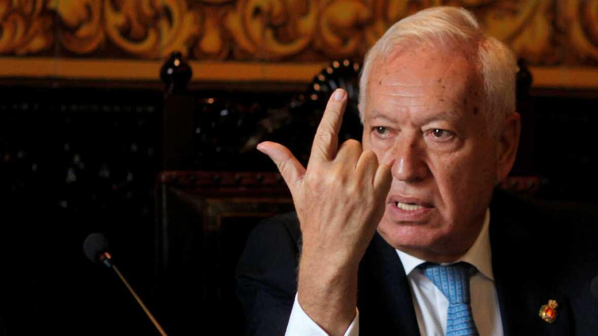 Las mañanas de RNE - García-Margallo insiste en la cosoberanía de Gibraltar - Escuchar ahora