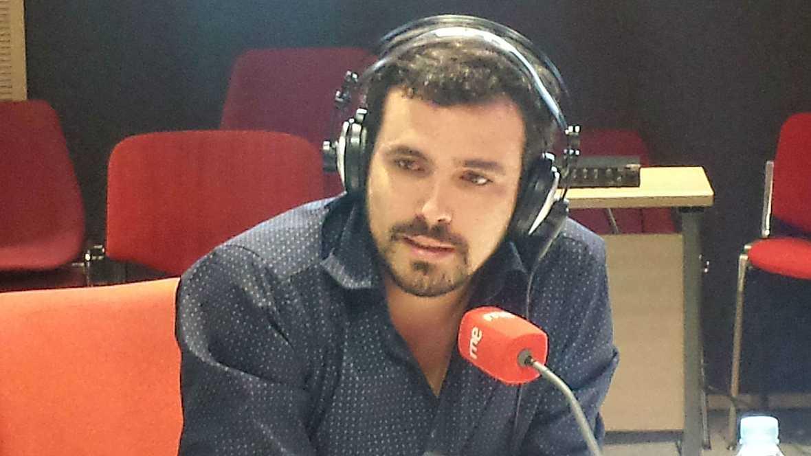 Las mañanas de RNE - Alberto Garzón (IU) considera que el PSOE con su abstención no puede liderar la oposición - Escuchar ahora
