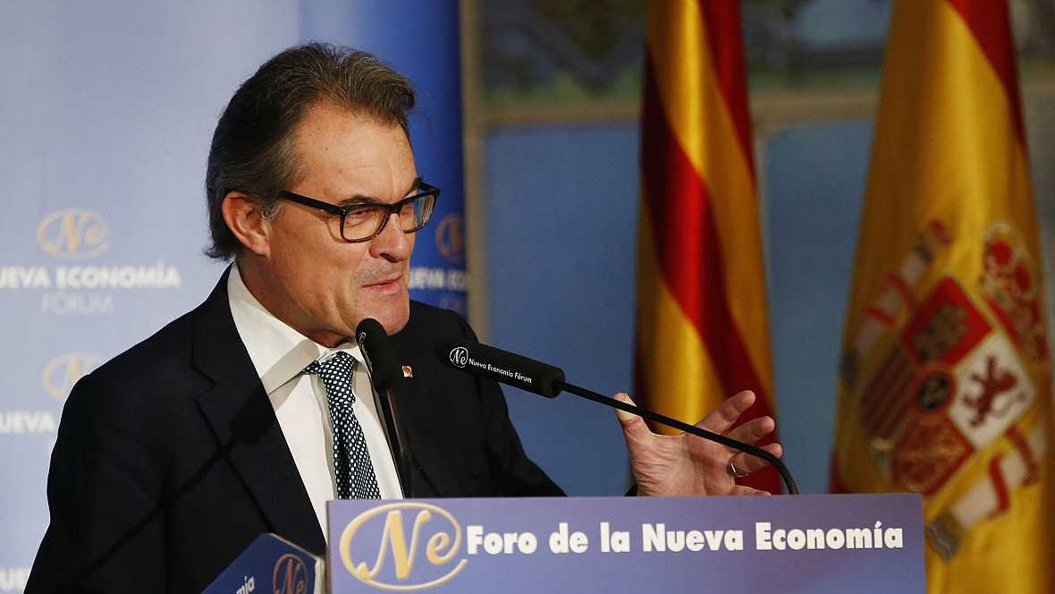 Boletines RNE - Artur Mas dice que los independentistas están dispuestos a dialogar - 19/10/16 - Escuchar ahora