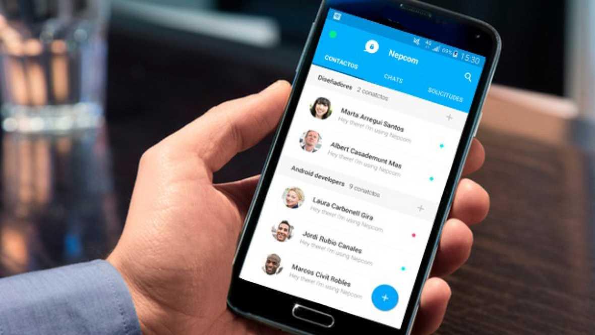 Marca España - Emprendedores españoles ponen en marcha una 'app' que garantiza la seguridad en el campo corporativo - escuchar ahora