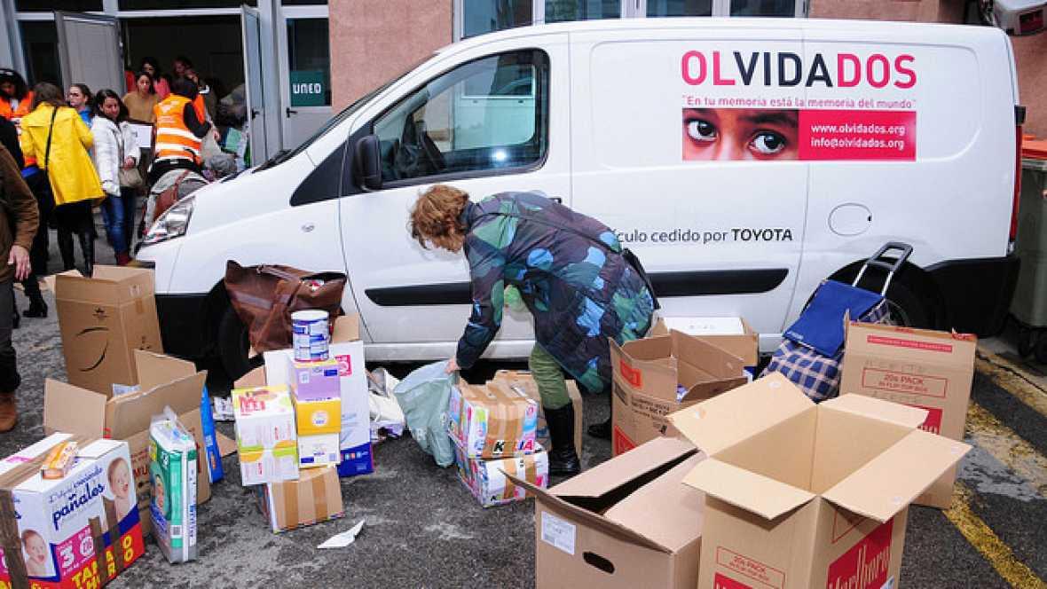 Punto de enlace - Nueva recogida de alimentos para los campamentos de refugiados en Grecia - 21/10/16 - escuchar ahora