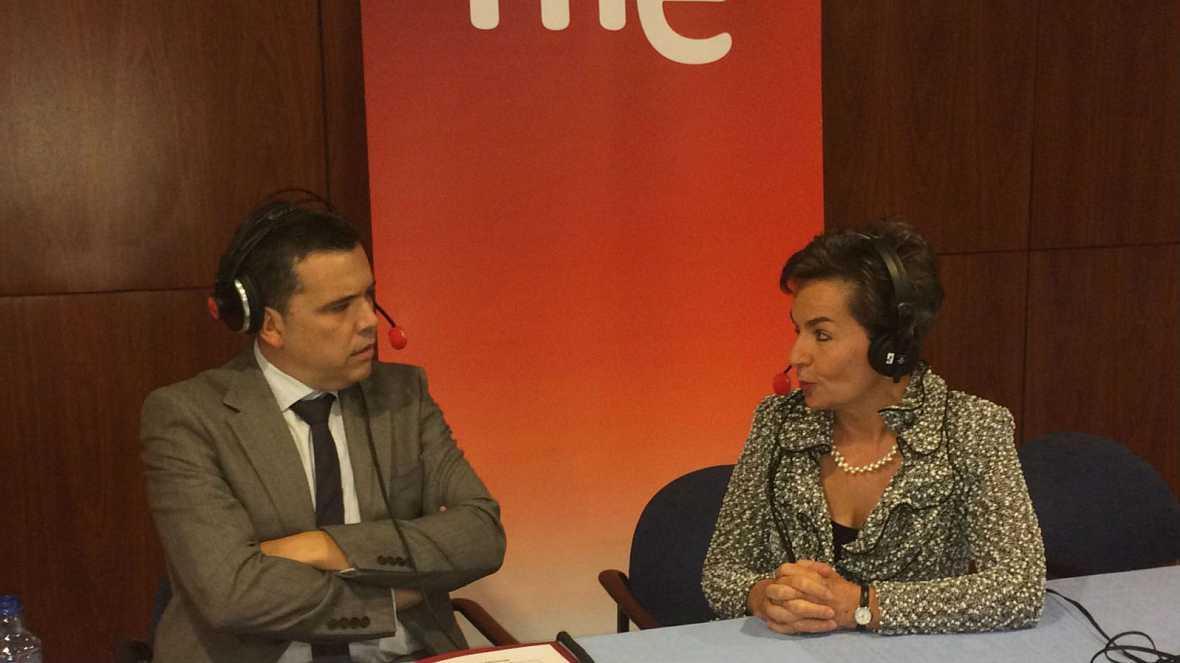 """Las mañanas de RNE - Premio Princesa de Asturias de Cooperación Internacional 2016, Christiana Figueres: """"El cambio climático ha dejado de ser un tema científico"""" - Escuchar ahora"""