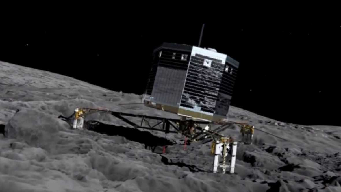 Marca España - Sener, presente en Rosetta, la misión que ya se conoce como el antes y el después en el conocimiento de los cuerpos celestes - escuchar ahora