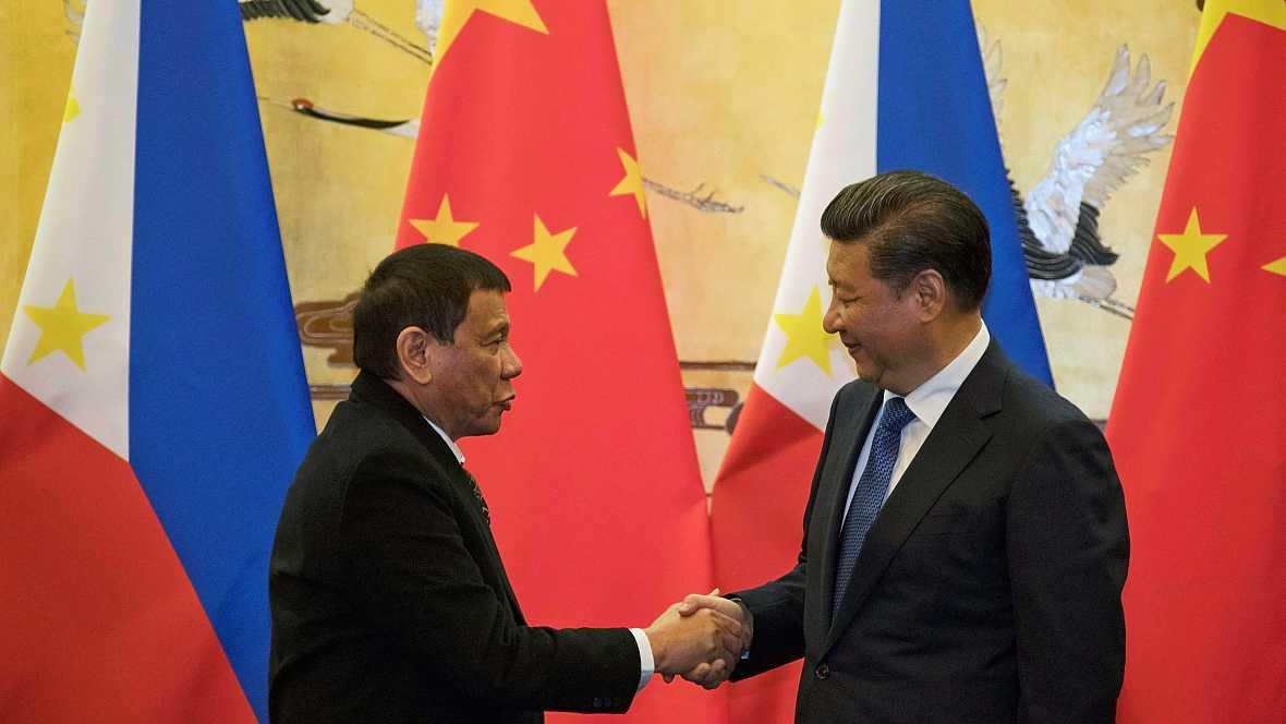 Asia hoy - Filipinas prefiere China - 21/10/16 - escuchar ahora